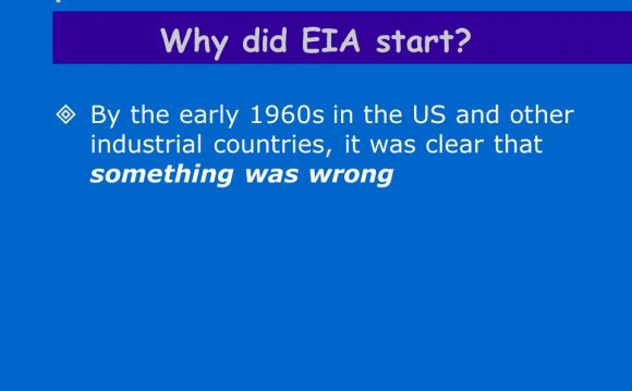 EA Training Course 3 History