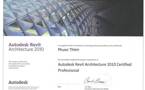 Autodesk Certified Revit