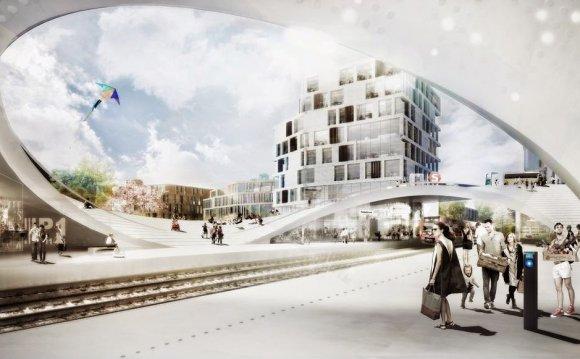 Train Station Project / Vinge