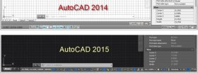 AutoCAD2015 User Interface vs 2014