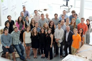 Graduate students and faculty in Clemson University's School of Architecture