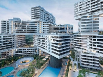 HOUSING The Interlace by OMA:Buro Ole Scheeren, Singapore