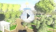 architectural landscaping project Church of St Alexander