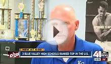 Blue Valley High Schools ranked top in the U.S.