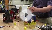 KU aerospace students test new drone design